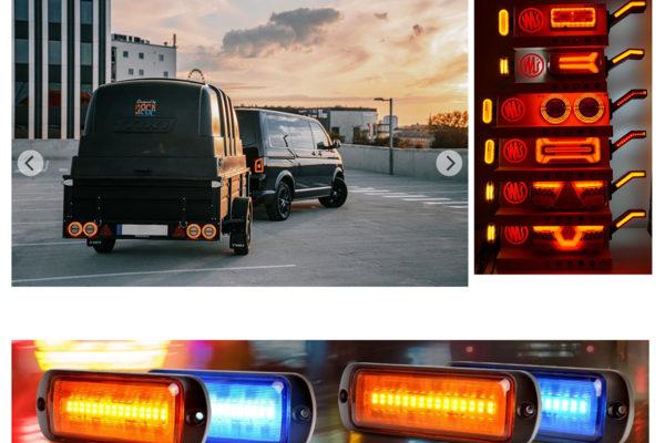WAS-LEDテールランプ/LEDマーカー/LED警告灯/LEDワークライトショッピングサイト