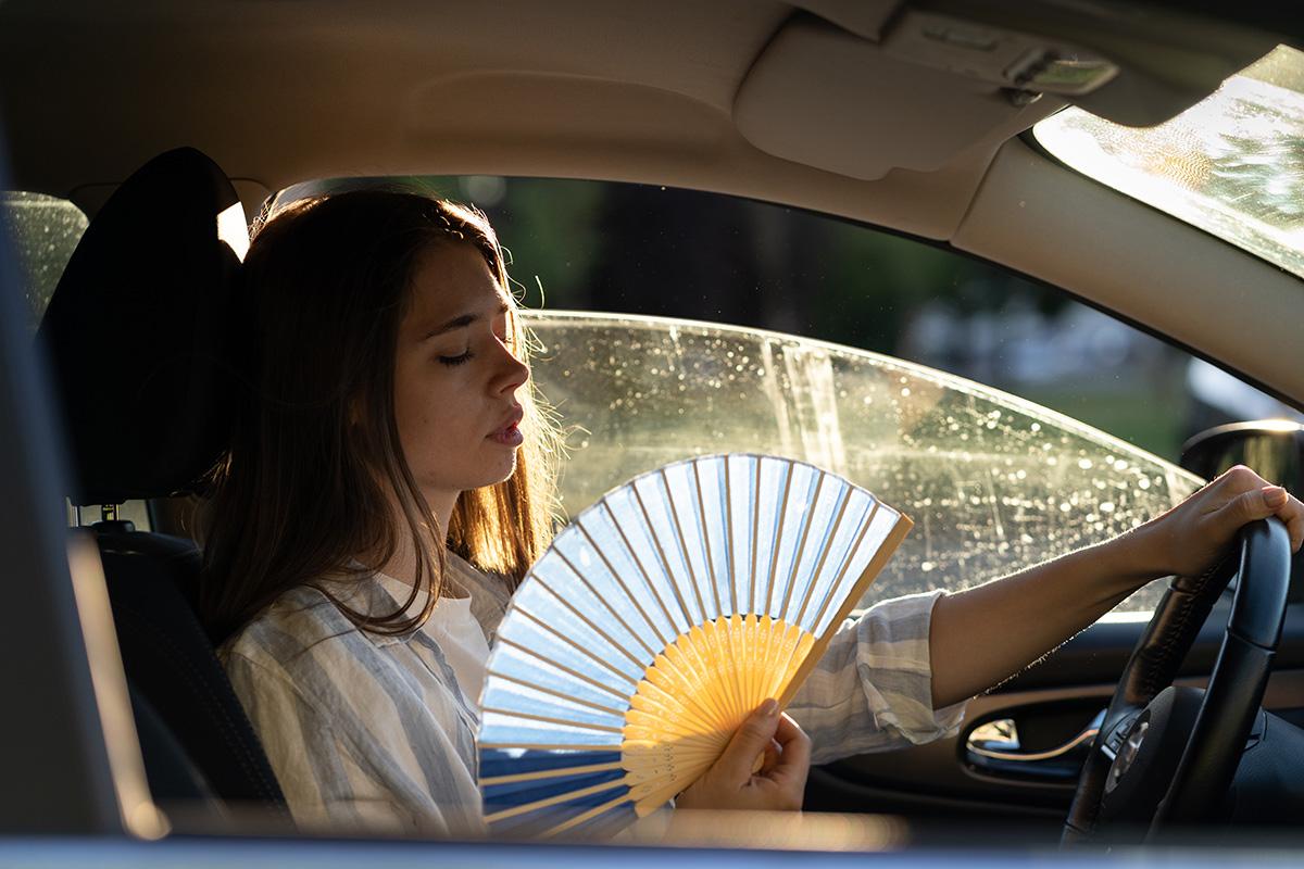 エアコンの効きが悪い車